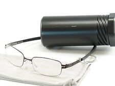 IC! Berlin Eyeglasses Frame Gunther Gunmetal Stainless Steel Germany 50-17-130