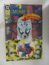 1 x Comic  Dc  Batman &  Superman Adventures  (Feb 1998)  Nr.3    Z. sehr gut
