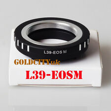 Leica M39 L39 39mm Screw Mount Lens Adapter to Canon EOS M Camera L39-EOSM