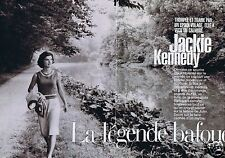 Coupure de presse Clipping 2002 Jackie Kennedy   (7 pages)