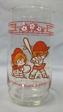 """Urchins ~ Coca-Cola drinking glass... """"Good friends score a perfect hit"""""""