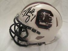 Jadeveon Clowney Signed South Carolina Mini Helmet - JSA Cert