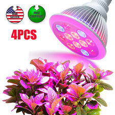 Lot4 E27 12x2W LED Hydroponic 24Wat Plant Grow Light Bulb Lamp Veg Full Spectrum