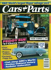 1993 Cars & Parts Magazine: 1930 Cord L-29/1950 Olds 88/1957 Chevy Restoration