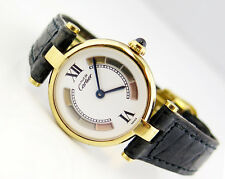 Cartier Paris Vermeil Trinity Muste De Cartier Tricolor Dial Ladies Watch