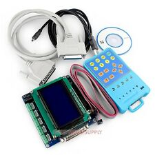 5Axis Upgraded CNC Breakout Board Interface Set +Keypad +Display, Manual Control