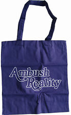 ENTER SHIKARI Ambush Reality TOTE BAG Official New Blue Carrier Shoulder Bag