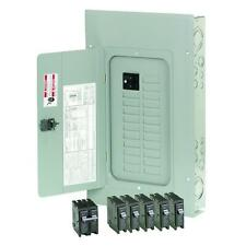 Eaton 100-Amp Main Breaker Box Garage Home Electrical Circuit Panel BR  20-Space