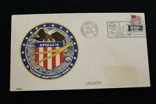 SPACE COVER 1972 PICTORIAL CANCEL APOLLO 16 6TH MOON LANDING MISSION LAUNCH (93)