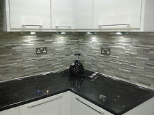 Montana Anthracite Split Face Effect Feature Wall Tiles - SOLD PER M2