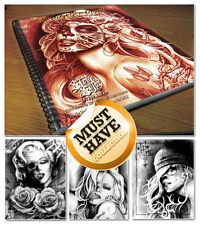 TATTOO FLASH BOOKS Steve Soto DESIGNS 'Devil Angels' Brand New sealed! RRP £55!