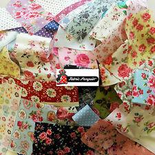 Fabric scraps-value Pack Floreale Vintage Bundle ritagli misti resti COTONE