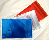 10x PROTECTIVE PLASTIC COVERS FOR SCHOOL EXERCISE BOOKS (BLUE)