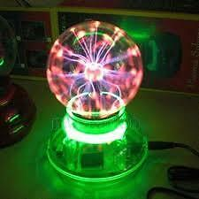 Car Plasma Ball - Color : Green