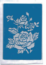 Plastic/pvc/pp / embossing/stencil/rose / multi/design/bendy