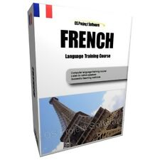 LEARN TO SPEAK FRENCH LANGUAGE TRAINING COURSE PC DVD NEW