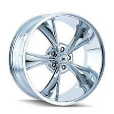 """CPP Ridler style 695 Wheels, 18x8 front + 20x10 rear, 5x4.75"""", CHROME"""
