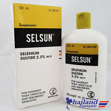 120ml SULFIDE TINEA VERSICOLOR ANTI DANDRUFF SELENIUM HAIRCARE SHAMPOO TREATMENT