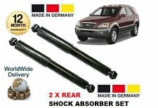 FOR KIA SORENTO 2.4 2.5TD 3.5 2003-2010 NEW 2 x REAR SHOCK SHOCKER ABSORBER SET