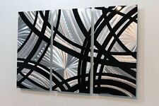 Metal Abstract Modern Painting Wall Art Sculpture Starting Point  By Jon Allen