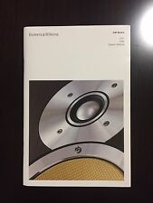 Bowers & Wilkins B&W CM9 CM7 Original Owners Manual