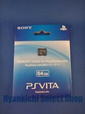 SONY PS VITA Memory Card 64 GB Japan Playstation Psvita PSV 64gb  PCH-Z641J