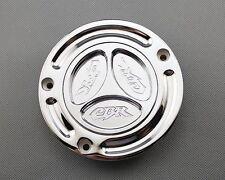 Chrome Keyless Gas Cap For Honda CBR 600F2 600F3 600F4 600F4i 900RR 929RR 954RR