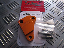 PROTEZIONE POMPA FRIZIONE KTM - ORIGINALE POWER PARTS - ORANGE 548.32.075.100