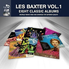Les Baxter EIGHT CLASSIC ALBUMS VOL. 1 Music Out Of The Moon NEW SEALED 4 CD