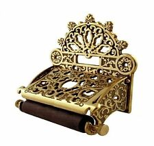 Victorian Antique Style Toilet Roll Holder bathroom accessories solid Brass