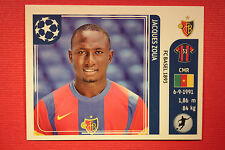 PANINI CHAMPIONS LEAGUE 2011/12 N 189 ZOUA BASEL WITH BLACK BACK MINT!