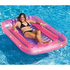 Swimline 9052 71 inch Swimming Pool Inflatable Suntan Tub Float Lounge New