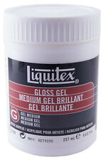 Liquitex Gloss Gel Medium 5708 for Artist Acrylic Paint 237ml 8oz Extender