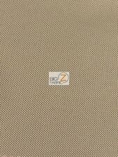 SOLID TWO TONE OUTDOOR WATERPROOF FABRIC - Brown/Khaki - BY YARD CANVAS ANTI-UV