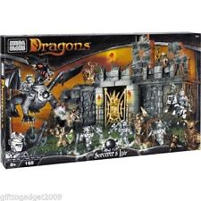Mega Bloks Dragons Sorcerers Lair 9886 Rare Collectable New & Sealed