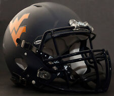 ***CUSTOM*** WEST VIRGINIA MOUNTAINEERS NCAA Riddell SPEED Football Helmet WVU