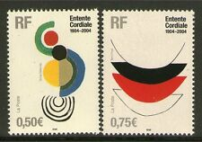 TIMBRES 3657-3658 NEUF XX LUXE - OEUVRES DE SONIA DELAUNAY ET TERRY FROST