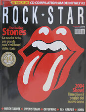 ROCKSTAR 1 2004 Rolling Stones Kelis Offspring Korn Puddle Of Mudd Blink 182