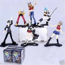 Soul Eater 6 pcs Set Figure Maka BlackStar Kid Lizu  with Box