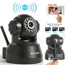 Wireless WIFI Pan/Tilt 720P Security Surveillance IP Camera Night Vision Webcam