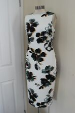 size 12 ivory mix floral dress from marks and spencer brand new stunning