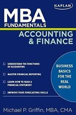 MBA FUNDAMENTALS ACCOUNTING AND FINANCE - MICHAEL P. GRIFFIN (PAPERBACK) NEW