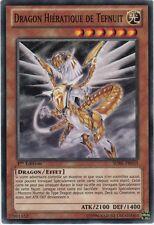 ♦Yu-Gi-Oh!♦ Dragon Hiératique de Tefnuit/Hieratic of : SDBE-FR010 -VF/COMMUNE-