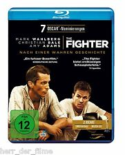 THE FIGHTER (Mark Wahlberg, Christian Bale) Blu-ray Disc NEU+OVP