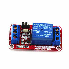 5V 1-Channel Optocoupler Relay Module for Arduino H/L Level Triger