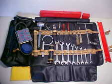Ferrari 275 Tool Kit Jack Roll Bag_Wrenches_Pliers_Screwdrivers_Bulb Kit 330 OEM