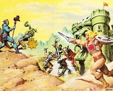 POSTER HE MAN AND THE MASTERS OF THE UNIVERSE GRANDE #7