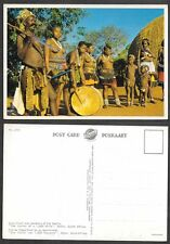 Old South Africa Postcard - Zulu Chief - Nude