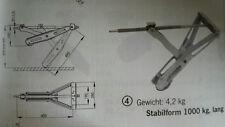 AL-KO Steckstütze Stabilform  Einbaumaß 605, 1000kg Tragfähigkeit