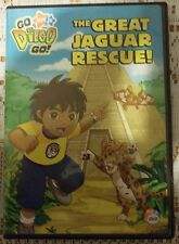 Go, Diego, Go! - The Great Jaguar Rescue! (DVD, 2007)